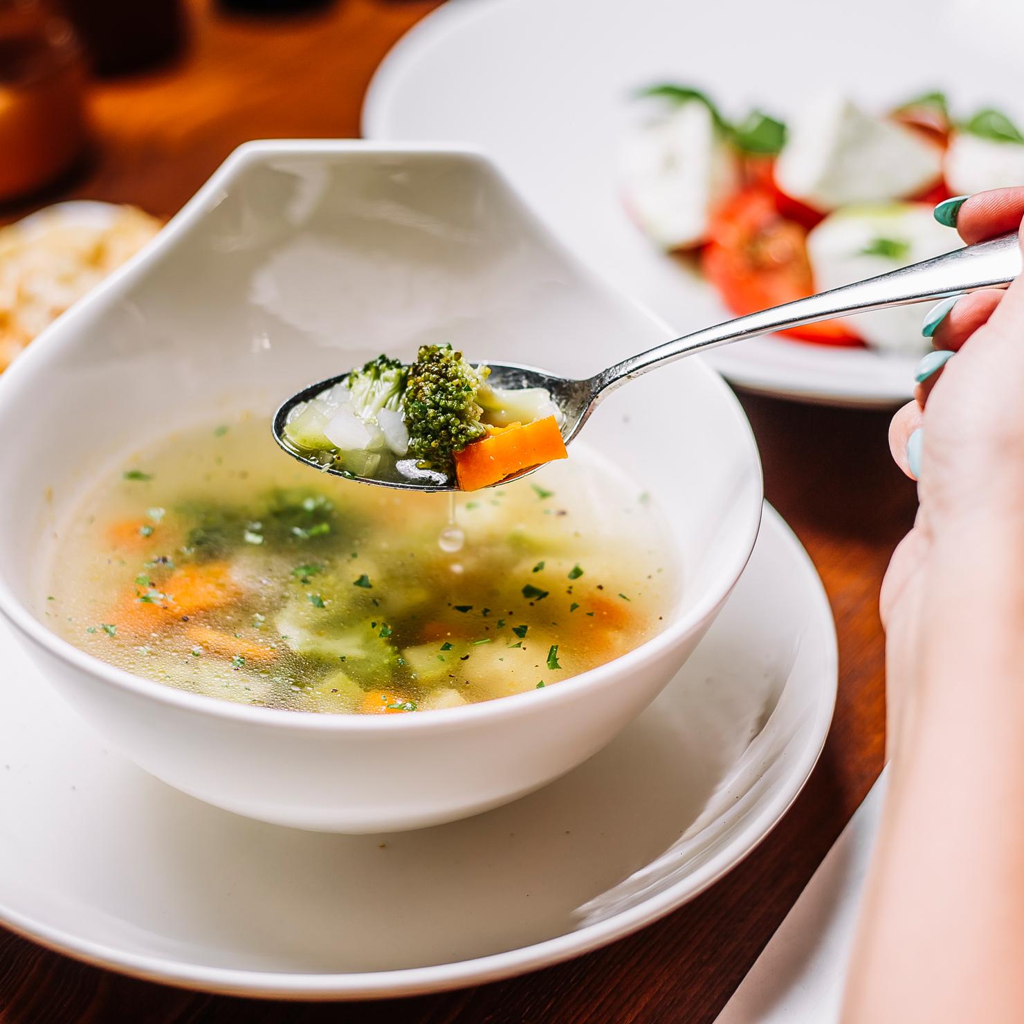 Garmischer Hof Bierbrauerei Speisekarte Suppe