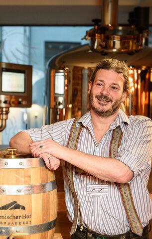 Garmischer Hof Bierbrauerei Brauereiführung mit Florian