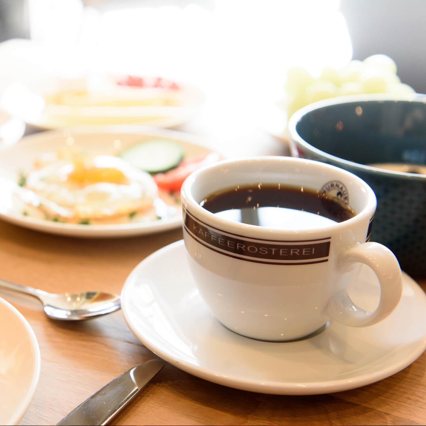 Garmischer Hof Brauerei Kaffee Tasse